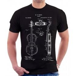 Violin Patent T Shirt