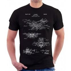 Amphibian Aircraft Sikorsky Patent T Shirt