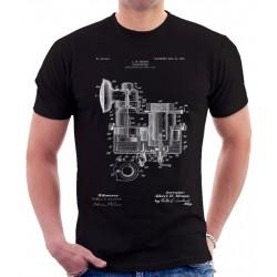 Carbureter Patent T Shirt