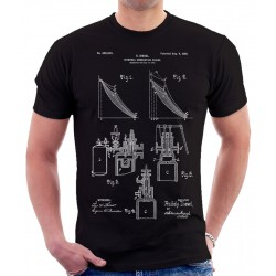 Diesel Internal Combustion Engine Patent T Shirt