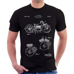 Indian Motorcycle Patent T Shirt