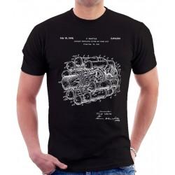 Jet Engine Patent T Shirt