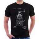 Coffee Mill Patent T-Shirt