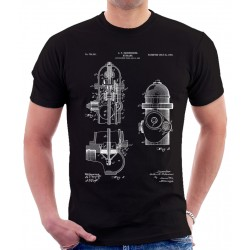 Fire Hydrant Patent T Shirt