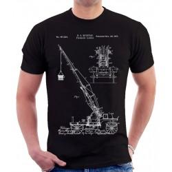 Firemens Ladder Patent T Shirt