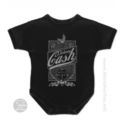 Johnny Cash Baby Onesie