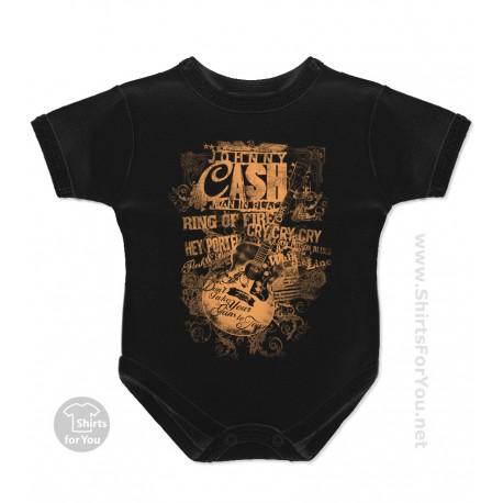 Johnny Cash Onesie