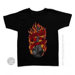 Johnny Cash Man in Black Kids T Shirt