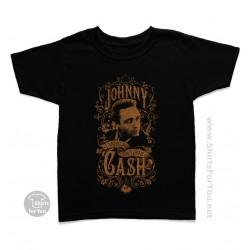 Johnny Cash I Walk The Line Kids T-Shirt