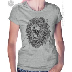 Lion Womens T-Shirt