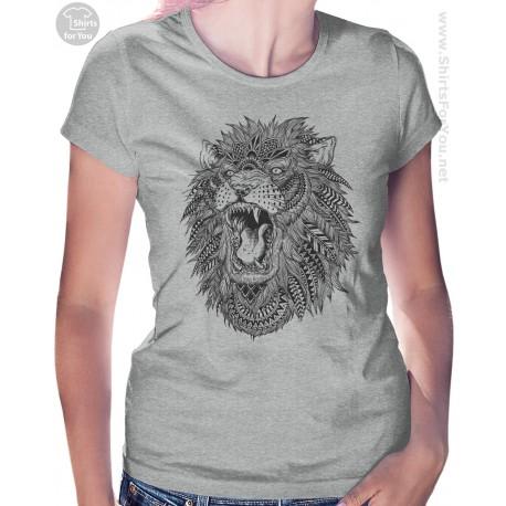 Lion Womens T Shirt