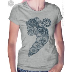 Tropic Mussel Womens T-Shirt