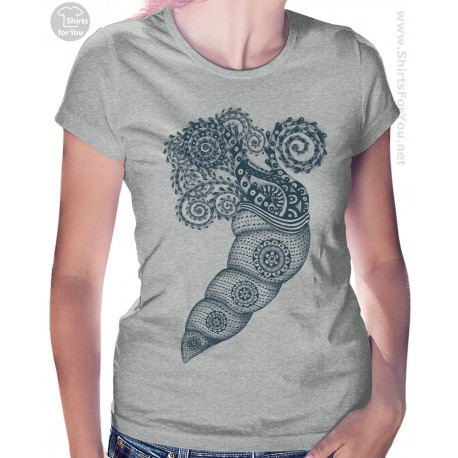 Tropic Mussel Womens T Shirt