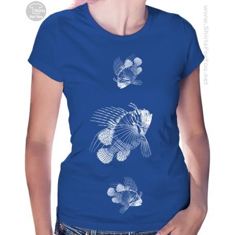 Urchin Fish Womens T Shirt