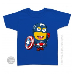 Captain America Minion Kids Tee