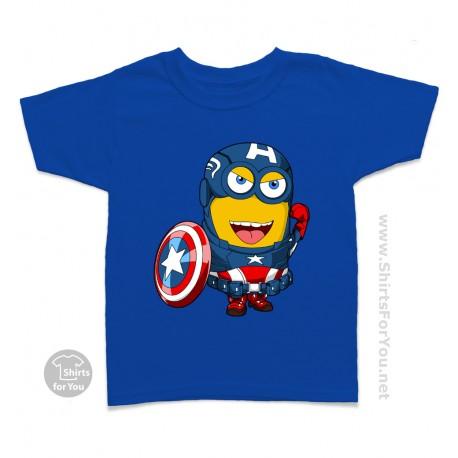 Captain America Minion Kids Tee