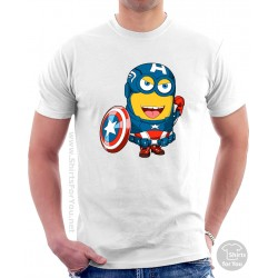 Captain America Minion T Shirt