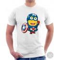 Captain America Minion T-Shirt
