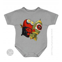 Deadpool Minion Baby Onesie