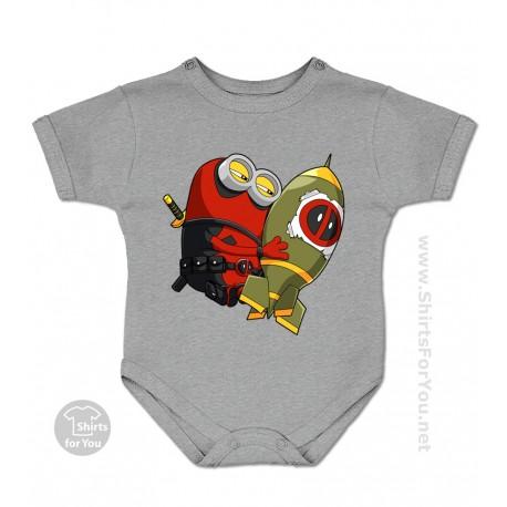 Deadpool Minion Baby Onesie