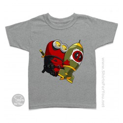 Deadpool Minion Kids T Shirt