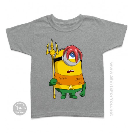 80ad1a69e Aquaman Minion Kids T Shirt