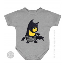 Batman Minion Baby Onesie