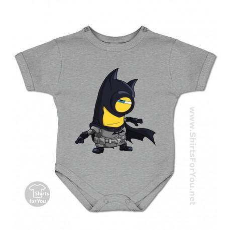 Batman Minion Baby Onesie