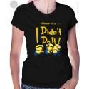 Minion I Didn't Do It Womens T-Shirt