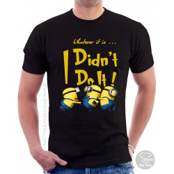Minion I Didn't Do It Unisex T-Shirt