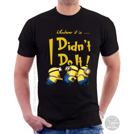 Minion I Didn't Do It Unisex T-Shirt