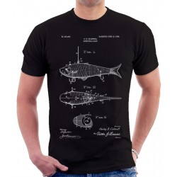 Fish Bait Patent T-Shirt