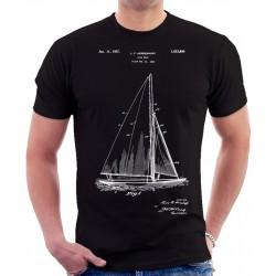 Sailboat Patent T-Shirt