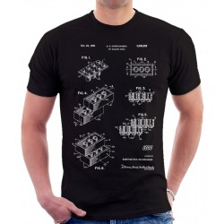 Lego Building Blocks Patent T-Shirt