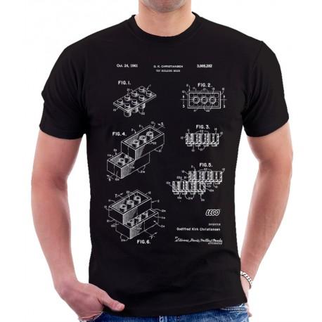 Lego Building Blocks Patent T Shirt