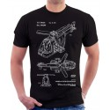 Lego Helicopter Patent T-Shirt