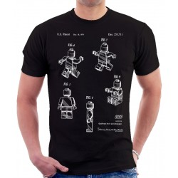 Lego Mini Figure Patent T-Shirt