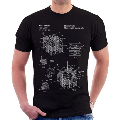 Rubiks Cube Patent T Shirt
