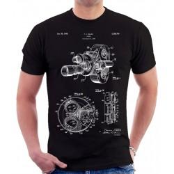Color Filter Camera Patent T Shirt