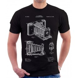 Kodak Pocket Camera Patent T Shirt