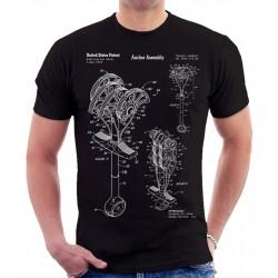 Climbing Anchor Patent T-Shirt