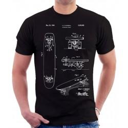 Skateboard Patent T-Shirt
