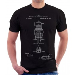 Whiskey Distillng Patent T-Shirt