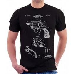 Colt Revolver Patent T Shirt