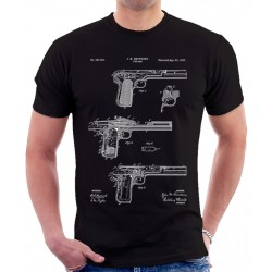 Browning Pistol Patent T Shirt