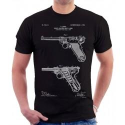 Luger Pistol Patent T Shirt