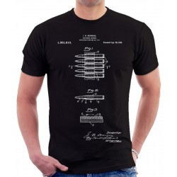 Bullet Carrier Patent T Shirt