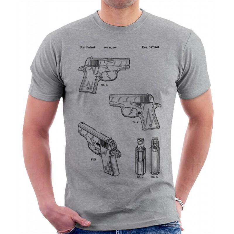 Sig Sauer Pistol Patent T Shirt