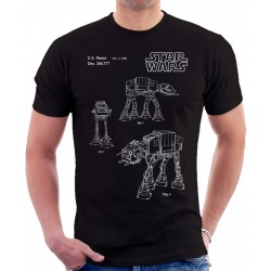 Star Wars AT-AT Imperial Walker Patent T Shirt