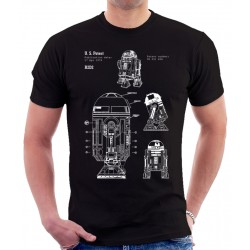 Star Wars R2 Patent T Shirt